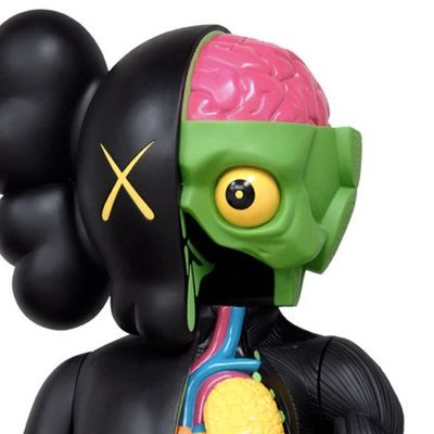 KAWS 4FT Dissected Companion