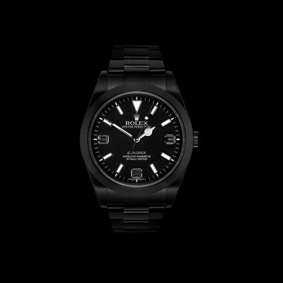 "Project X ""Stealth"" Rolex"