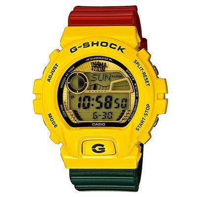 G-Shock rastafariano