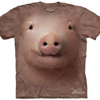 Magliette con le facce degli animali