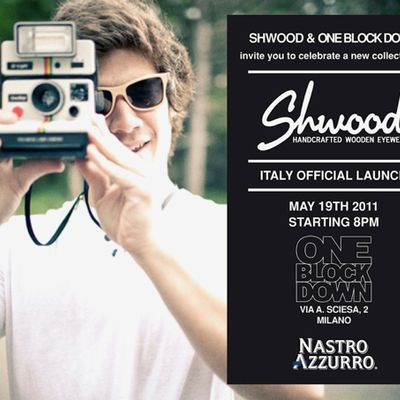 Shwood @ 1 Block Down