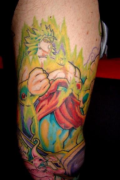 Dragon ball z tattoo 9 for Dragon ball z tattoo ideas