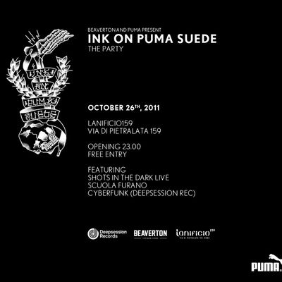 Ink on Puma Suede – Roma