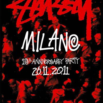 Stussy Milano 10th Anniversary Party
