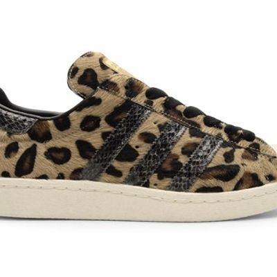 adidas Superstar 80s Leopard/Snakeskin