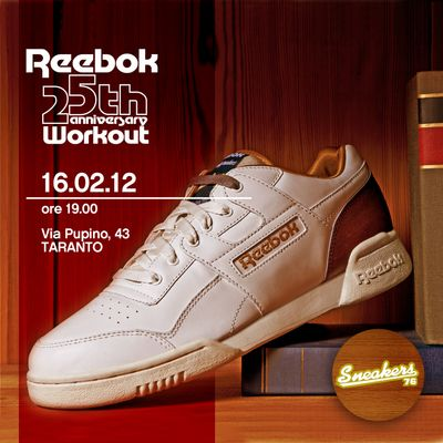 Sneakers 76 x Reebok Workout