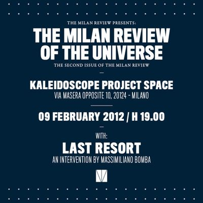 The Milan Review Of The Universe