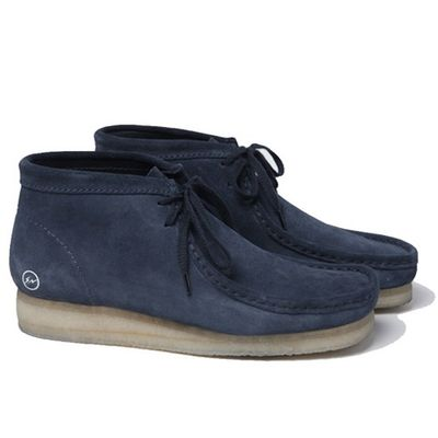 Uniform Experiment x fragment Design x Clarks Wallabees