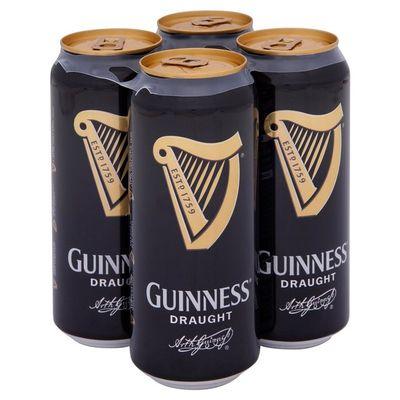 Spillare una Guinness dalla lattina