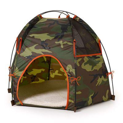 Cuccia-tenda camouflage