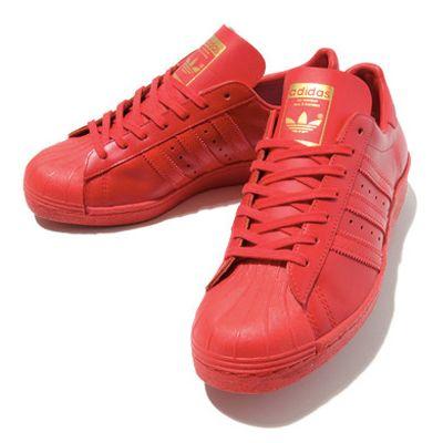 adidas Originals Superstar tutta rossa