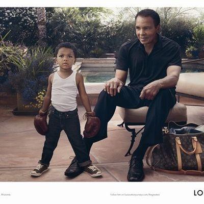 Muhammad Ali x Louis Vuitton