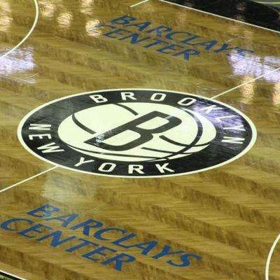Il parquet dei Brooklyn Nets