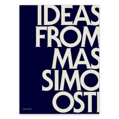 Il libro su Massimo Osti