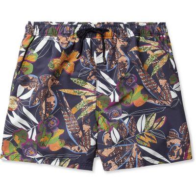 EtroMid-Length Flower-Print Swim Shorts