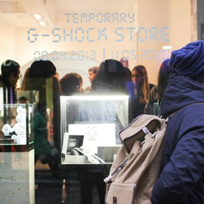 G-SHOCK Music Beat al G-SHOCK Temporary Shop