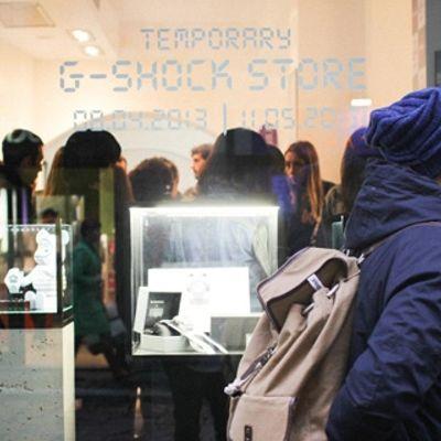 G-SHOCK Graffiti Beat con Bufer e Mind al G-SHOCK Temporary Store