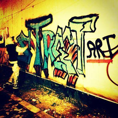 Il graffito di Justin Bieber