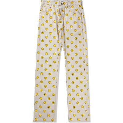 Pantaloni con le faccine