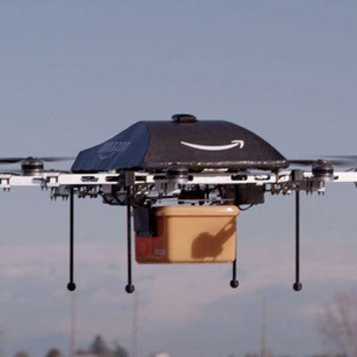 Il drone che ti consegna i pacchi al volo
