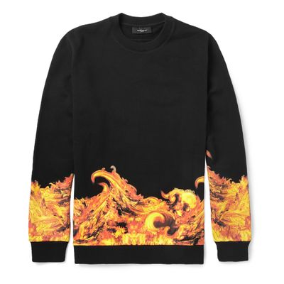 Felpa con le fiamme di Givenchy