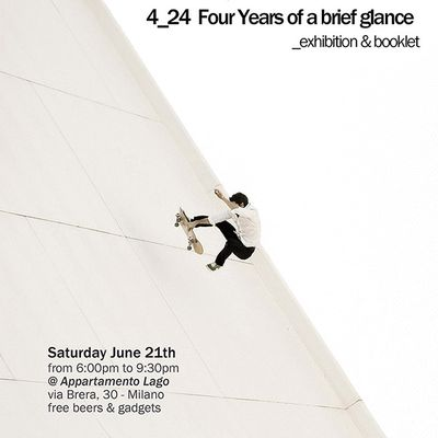 FNG presenta: 4_24 Four years of brief glance