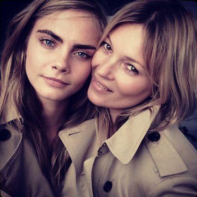 Cara Delevingne e Kate Moss sono molto carine assieme