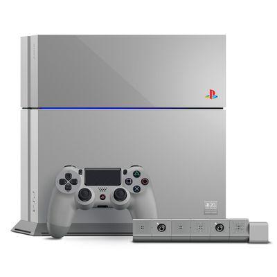 La PS4 con i colori dalla PlayStation originale