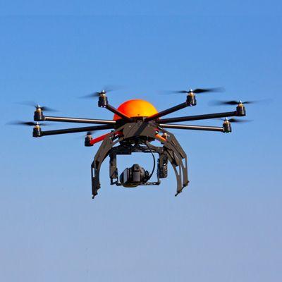 Si è schiantato un drone pieno di crystal meth