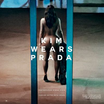 Kim Kardashian (ancora) totalmente nuda per Love Magazine