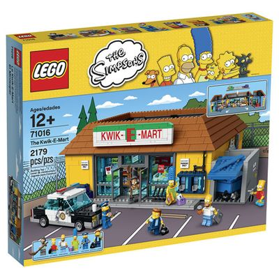 Lego set del Kwik-E-Mart