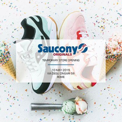 A Roma apre il primo temporary store Saucony Originals