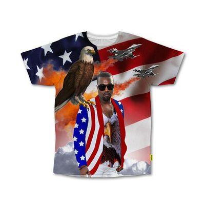Il merchandising per Kanye West presidente 2020