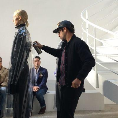 Nuova moda nella moda: pittare le modelle