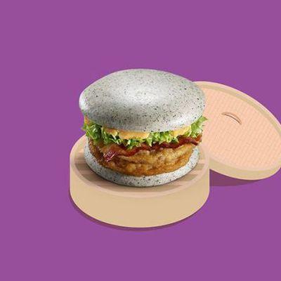 McDonald's Cina ha fatto il nopani marmorizzato