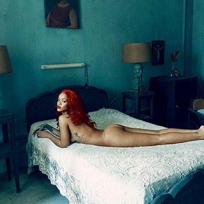 Il culo di Rihanna su Vanity Fair