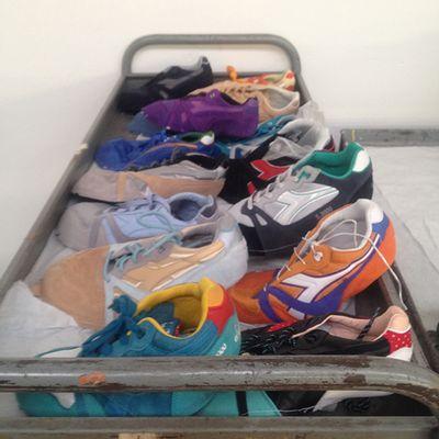 Uno sneakerhead in gita al quartier generale di Diadora