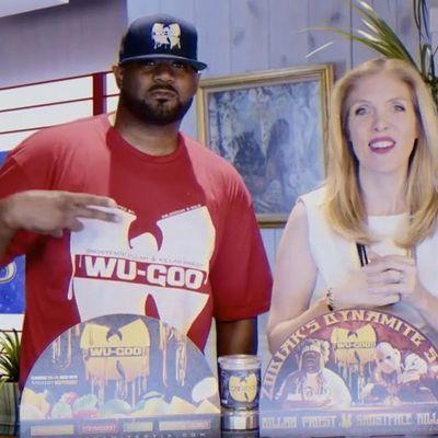 Ghostface Killah fa la televendita del suo brand di cartucce al mofu per il vaporizzatore