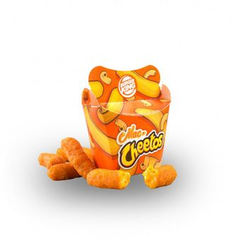Mac n Cheetos: cheetos ripieni di mac n cheese di Burger King