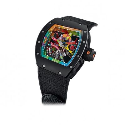 Richard Mille da 700k con dentro i graffiti