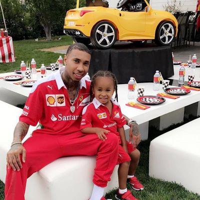 La festa di comple a tema Ferrari del figlio di Tyga