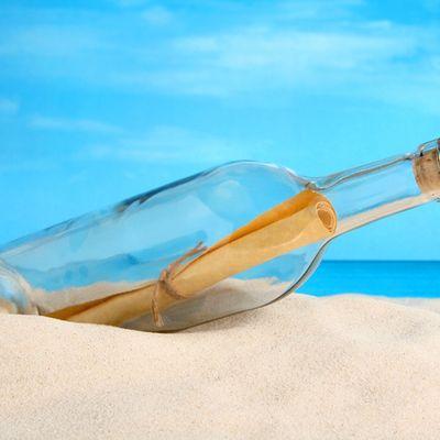 Nobambi trova un messaggio in bottiglia che potresti averlo scritto tu