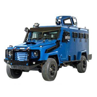 Land Cruiser blindato per l'aperitivo SWAT