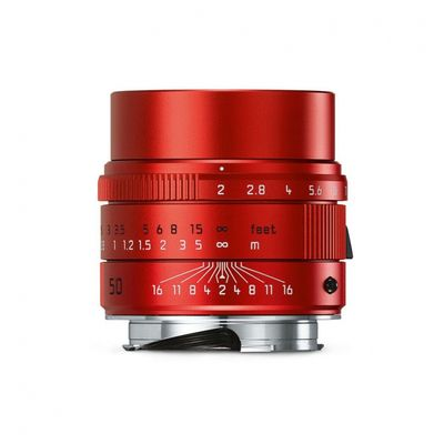 Obiettivo rosso della Leica
