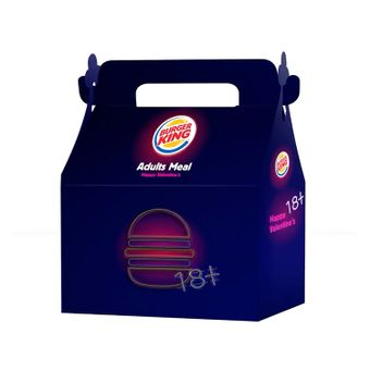 Burger King lancia il menu di San Valentino con dentro i cazzi di gomma
