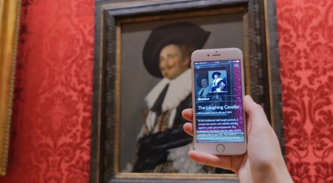 L'app tipo Shazam che sgama i quadri