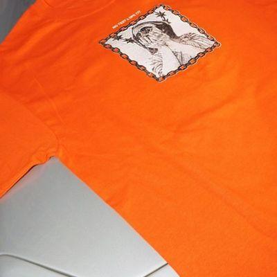 NO TEXT x Dark Polo Gang maglietta arancione