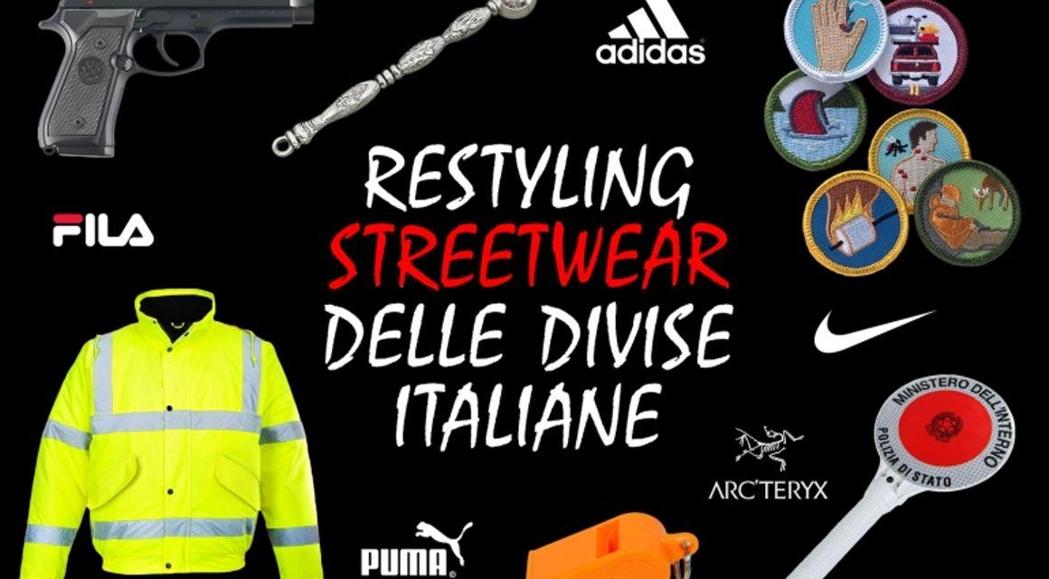 Restyling streetwear delle divise italiane