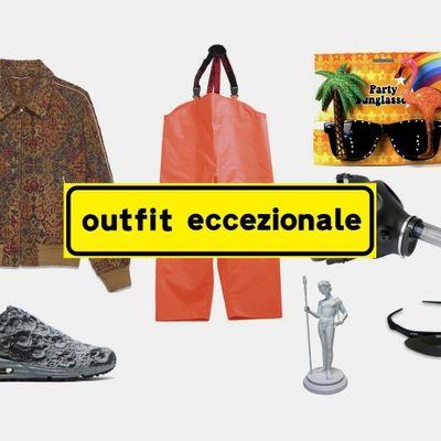 Outfit eccezionali per situazioni eccezionali