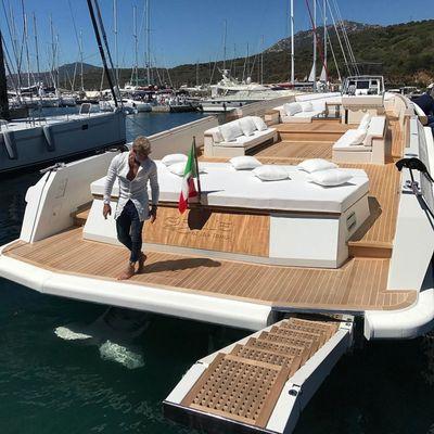 La nuova barca di Gianluca Vacchi